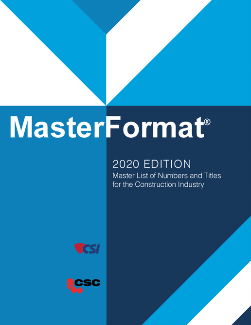MasterFormat 2020 (Numbers & Titles)