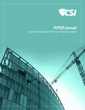 PPDFormat - A Guide for Developing Preliminary Project Descriptions